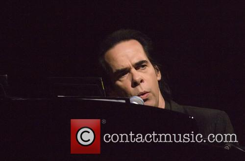 Nick Cave performs live in concert
