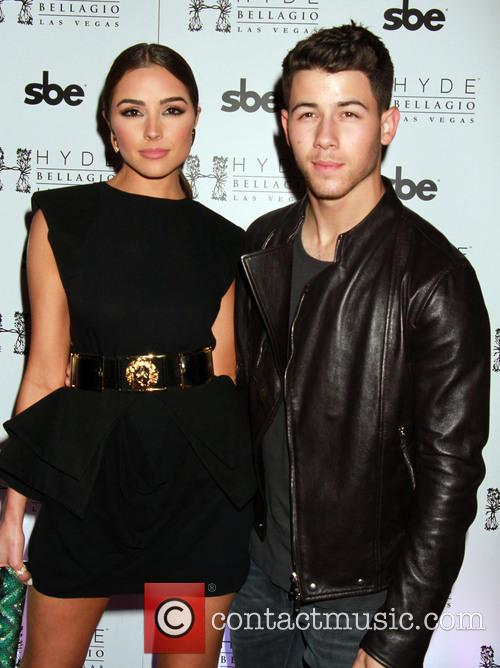 Nick Jonas and Olivia Culpo 10