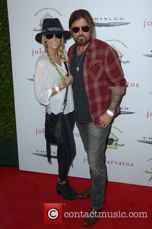 Tish Cyrus and Billy Ray Cyrus 1