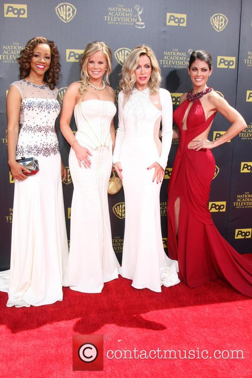 Chrystee Pharris, Crystal Hunt, Donna Mills and Lindsay Hartley 2