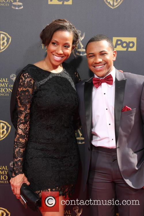 Tequan Richmond and Mother 3