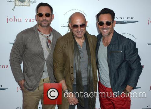 Gregory Zarian, John Varvatos and Lawrence Zarian 2