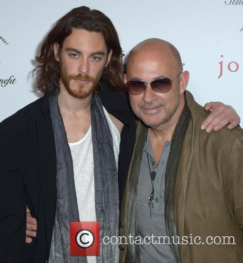 Jonas Kesseler and John Varvatos 1
