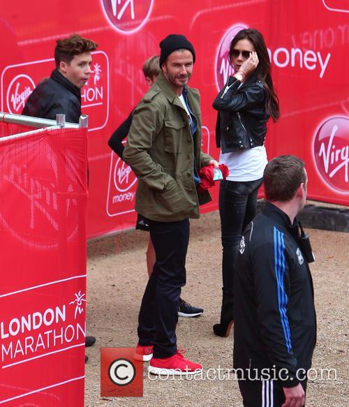 David Beckham, Brooklyn Beckham, Victoria Beckham, Cruz Beckham and Romeo Beckham 1