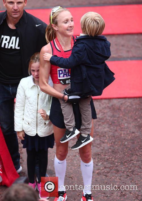 Paula Radcliffe, Gary Lough, Raphael Lough and Isla Lough 10