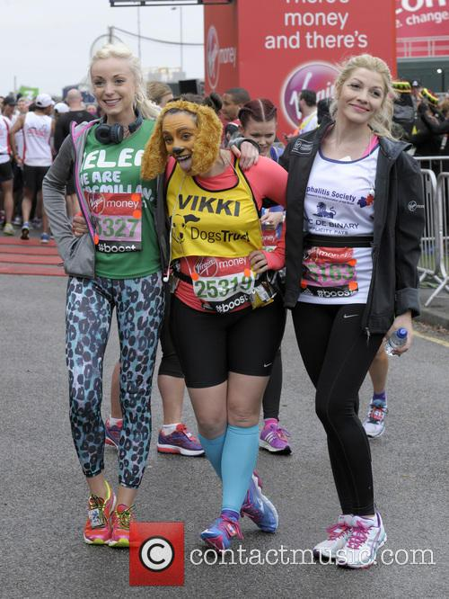 Helen George, Vikki Stone and Aliki Chrysochou 10