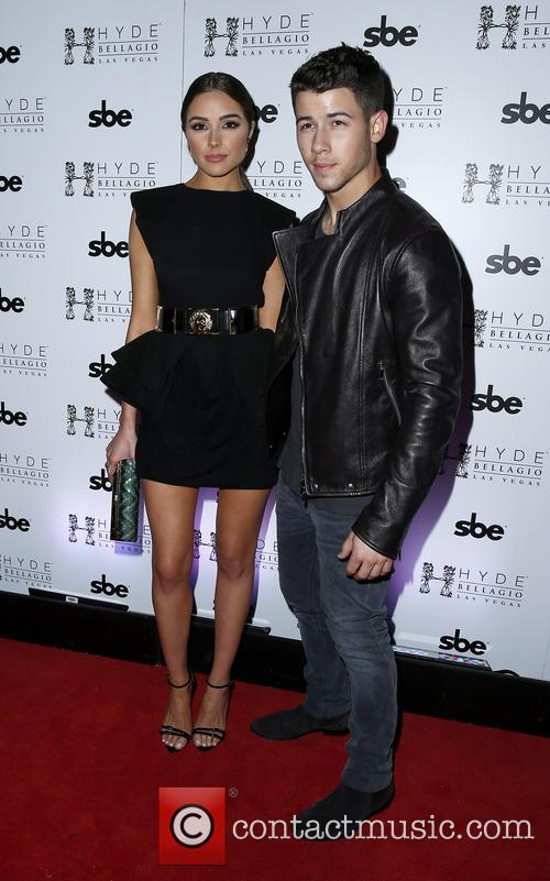 Olivia Culpo and Nick Jonas 1