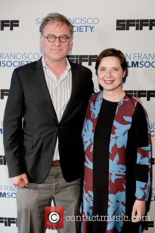 Noah Cowen and Isabella Rossellini 1
