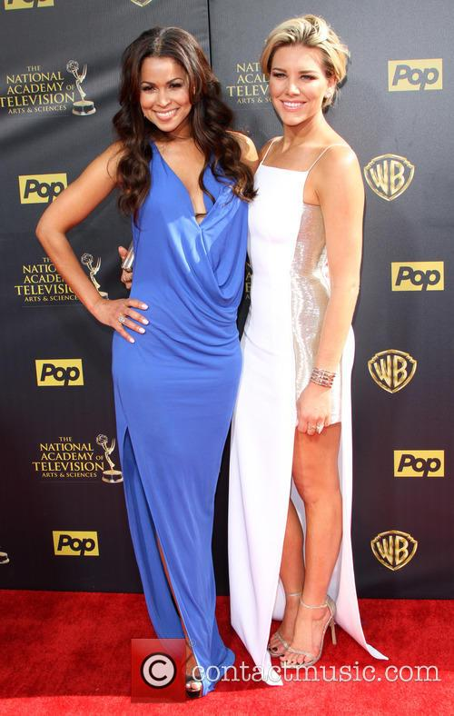 Tracey Edmonds and Charissa Thompson 2