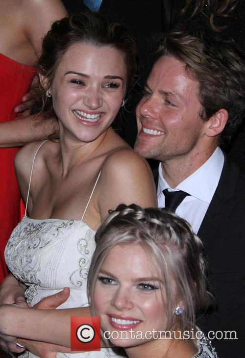 Hunter King, Kelli Goss and Lachlan Buchanan 3
