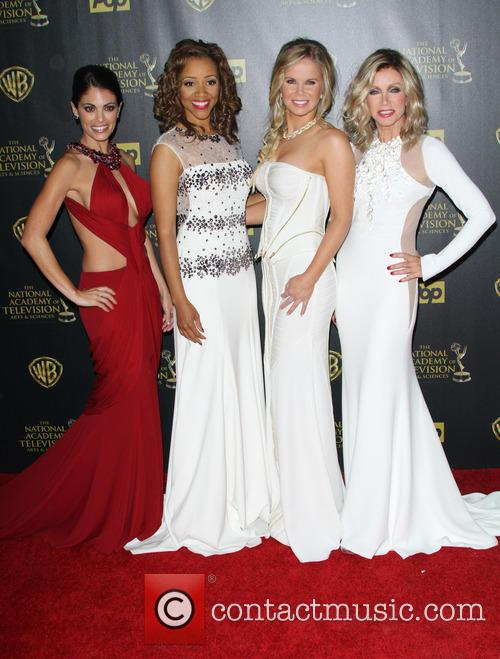 Lindsay Hartley, Chrystee Pharris, Crystal Hunt and Donna Mills 5