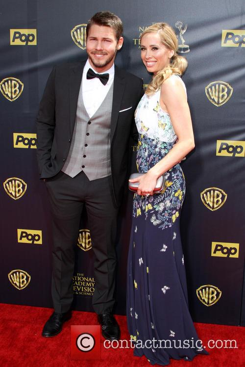 Scott Clifton and Nicole Lampson 2