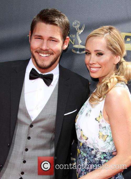 Scott Clifton and Nicole Lampson 1