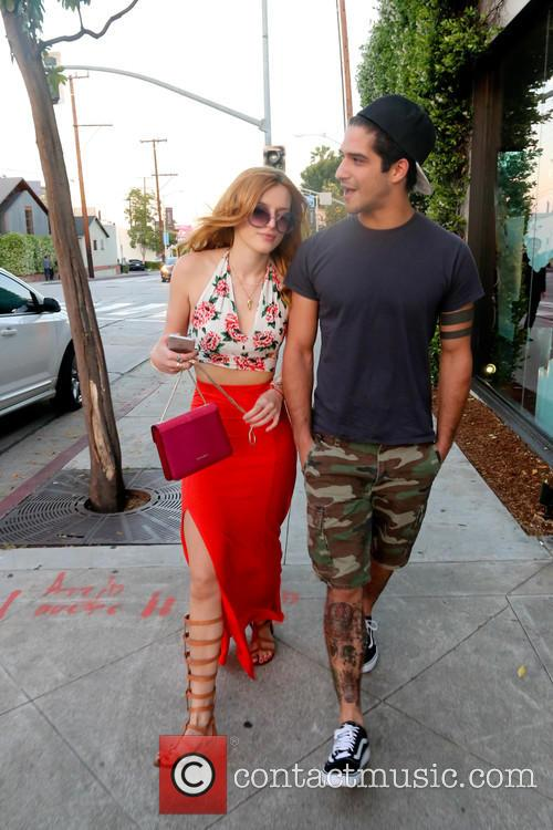 Bella Thorne out for dinner