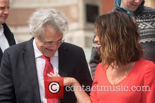 John Suchet and Myleene Klass 2