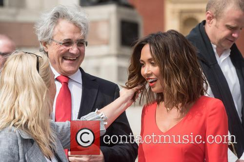 John Suchet and Myleene Klass 1