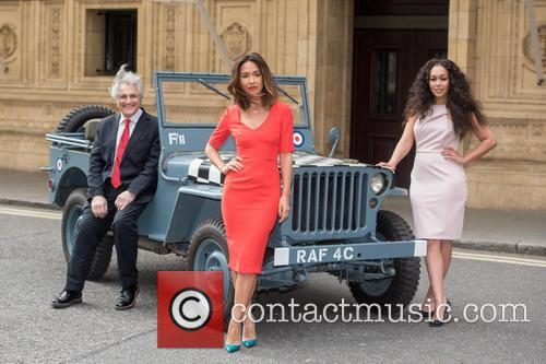 John Suchet, Myleene Klass and Rebecca Ferguson 5
