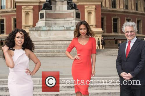 Myleene Klass, Rebecca Ferguson and John Suchet 9
