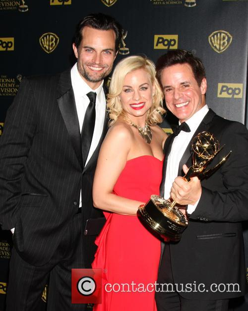 Scott Elrod, Jessica Collins and Christian Leblanc