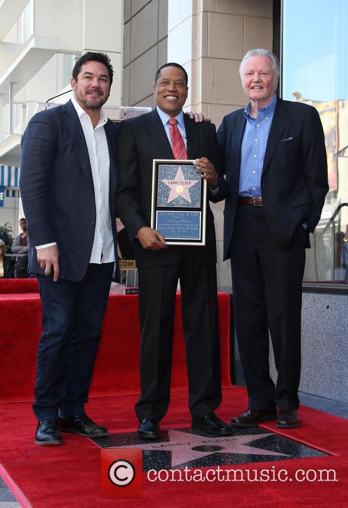 Dean Cain, Larry Elder and Jon Voight 2