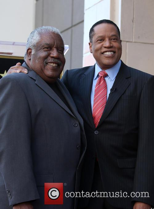 Larry Elder and Father 7