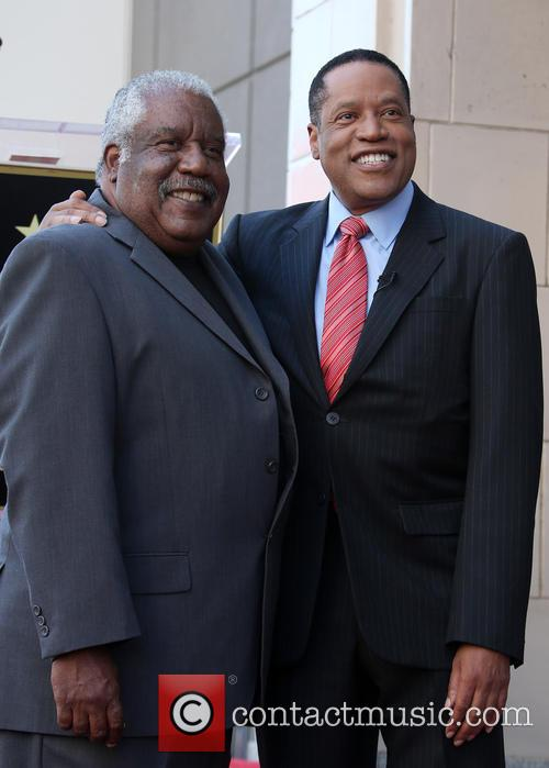 Larry Elder and Father 9