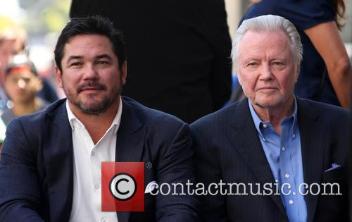 Dean Cain and Jon Voight 8