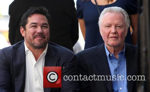 Dean Cain and Jon Voight 9
