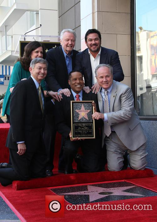 Maureen Schultz, Jon Voight, Leron Gubler, Larry Elder, Dean Cain and Tom Labonge. Councilmember 1