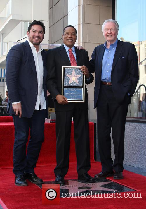 Dean Cain, Larry Elder and Jon Voight 11