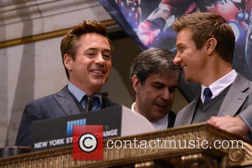 Robert Downey Jr. and Jeremy Renner 2