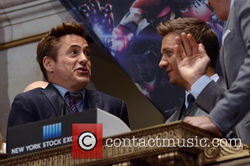 Robert Downey Jr. and Jeremy Renner 3