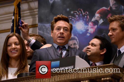 Robert Downey Jr. and Jeremy Renner 4