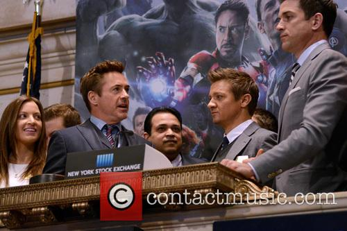 Robert Downey Jr. and Jeremy Renner 5