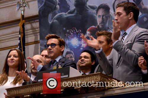 Robert Downey Jr. and Jeremy Renner 11