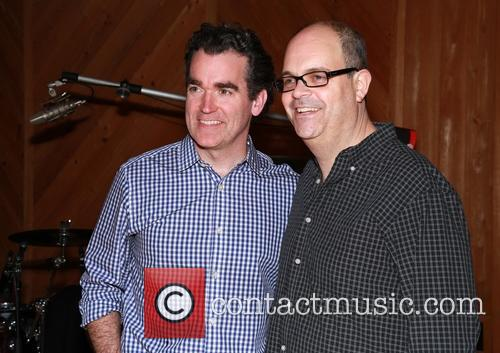 Brian D'arcy James and Brad Oscar 2