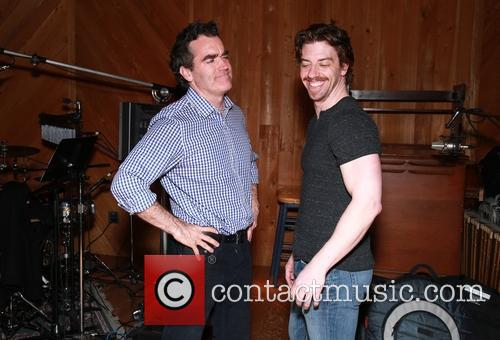 Brian D'arcy James and Christian Borle 8