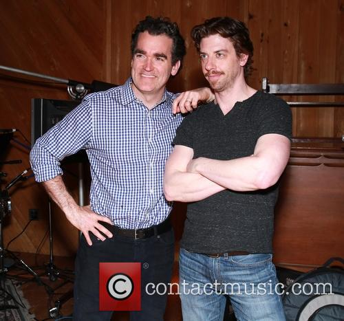 Brian D'arcy James and Christian Borle 10