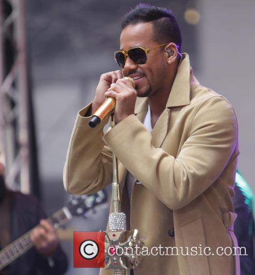 Romeo Santos performs on The Today Show