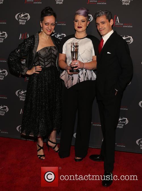 Isabel Toledo, Kelly Osbourne and Ruben Toledo 2