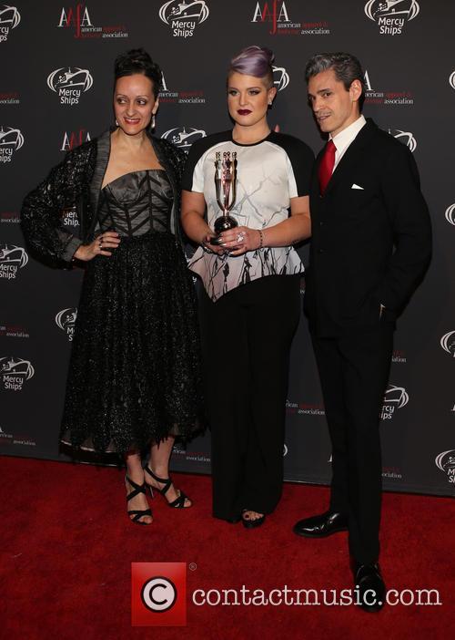 Isabel Toledo, Kelly Osbourne and Ruben Toledo 1