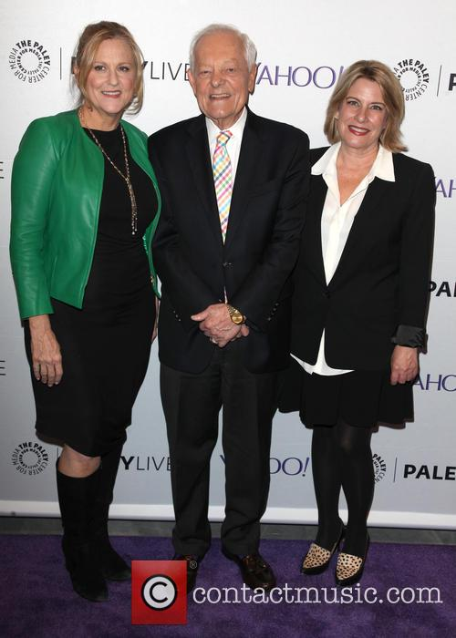 Lori Mccreary, Bob Schieffer and Barbara Hall