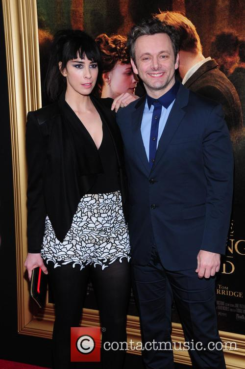 Sarah Silverman and Michael Sheen 2