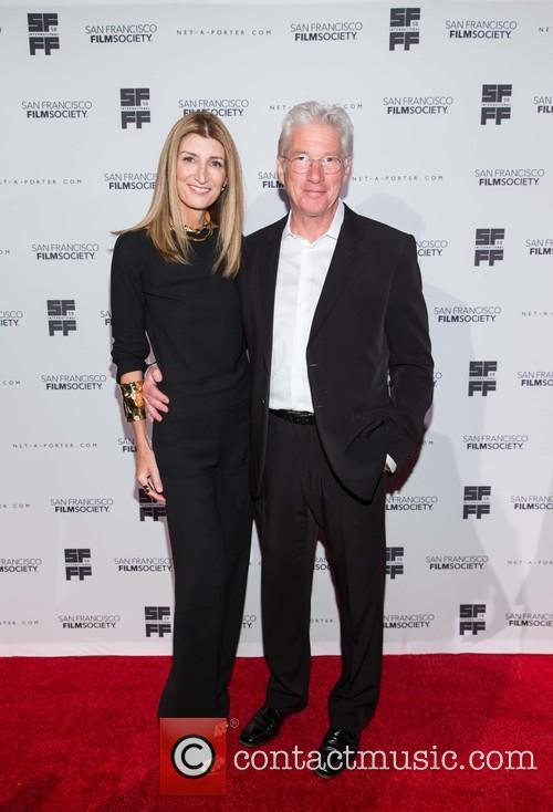 Sarah Rutson and Richard Gere 2