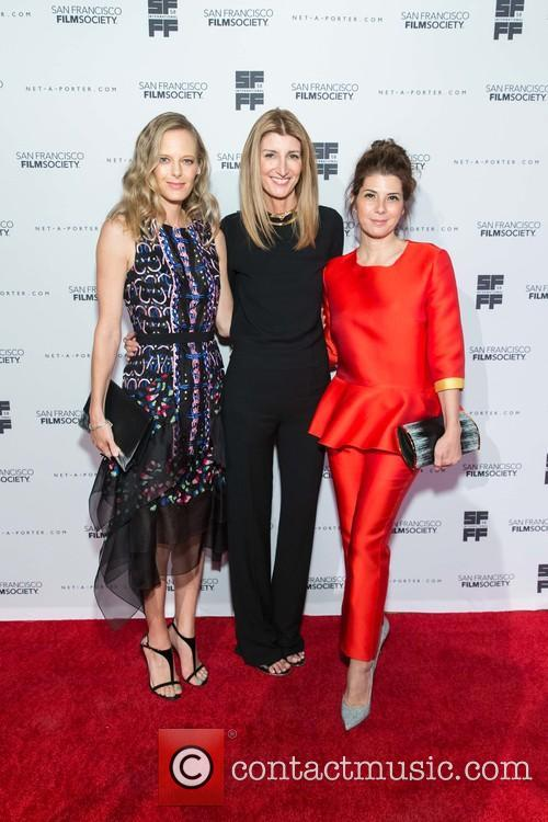 Katie Traina, Sarah Rutson and Marisa Tomei 3