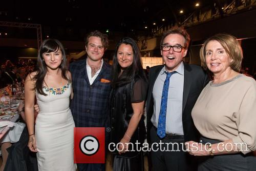 Zelda Williams, Zak Williams, Marsha Garces, Chris Columbus and The Honorable Nancy Pelosi 9