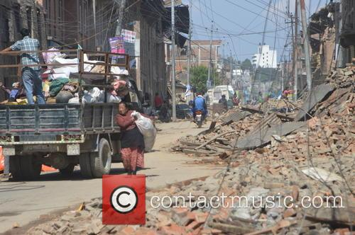 Devastating Scenes and Nepal Earthquake Disaster 6