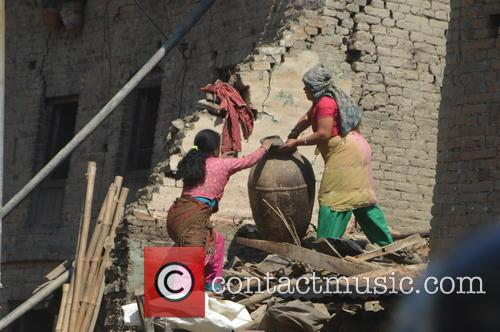 Devastating Scenes and Nepal Earthquake Disaster 7