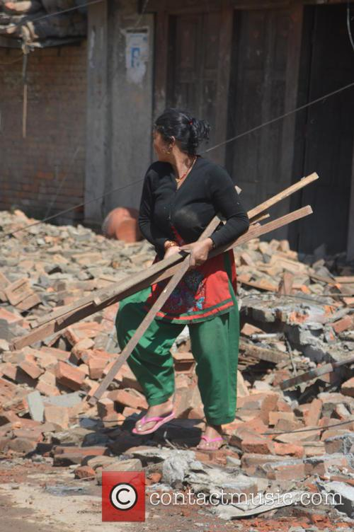 Devastating Scenes and Nepal Earthquake Disaster 8