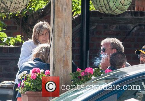 Jeremy Clarkson out drinking with Penny Smith